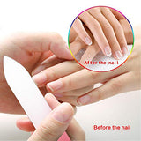 AUTENPOO Nail File, 6 PCS Double Sided Nail Buffer, Crystal Glass Nail File