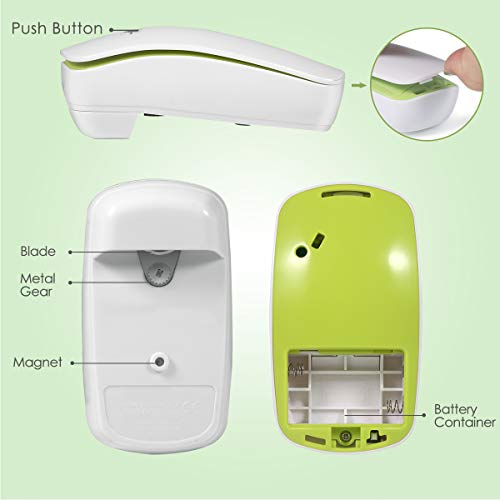 Electric Can Opener, Restaurant can Opener, Smooth Edge Automatic Electric