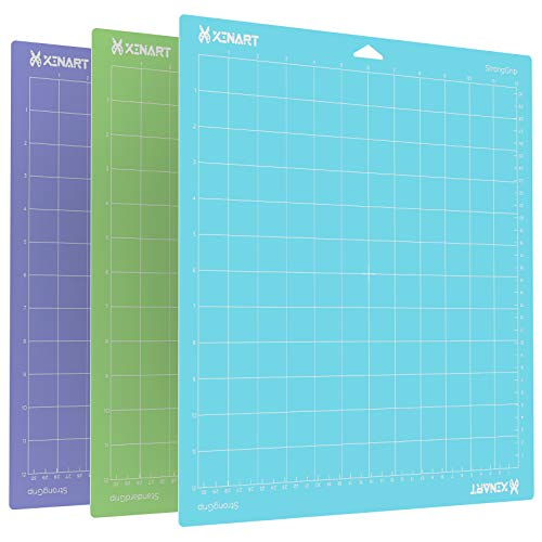 Xinart 12x12 Inch Cutting Mat for Cricut Explore Air 2/Air/Maker
