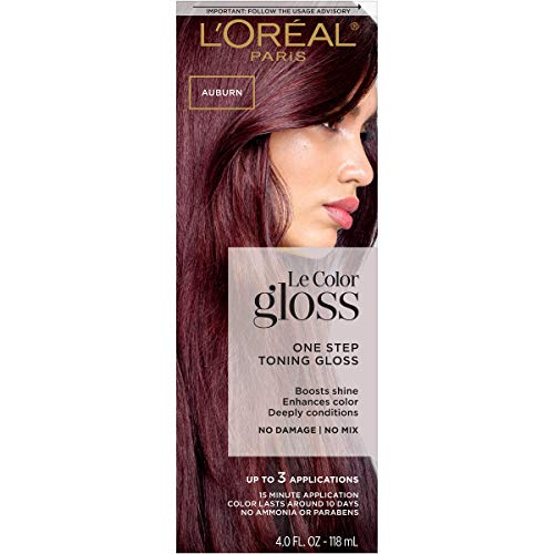 L'Oreal Paris One Step Toning Hair Gloss, In-Shower At Home Use, Boosts Shine