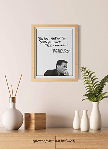 Michael Scott Motivational Quote Poster