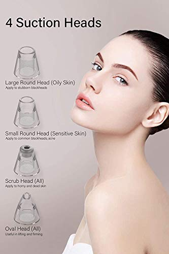 Blackhead Remover Pore vacuum Electric Pore Clean Acne Comedone Pimple Blackhead