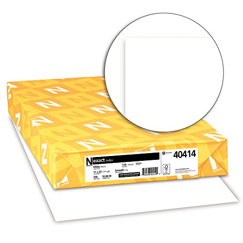 Neenah Paper 40414 Neenah Exact Index, 110 lb, 11 x 17 Inches, 250 Sheets, White
