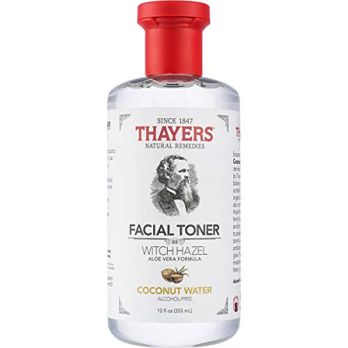 Thayers Alcohol-Free Coconut Water Witch Hazel Facial Toner with Aloe Vera Formula