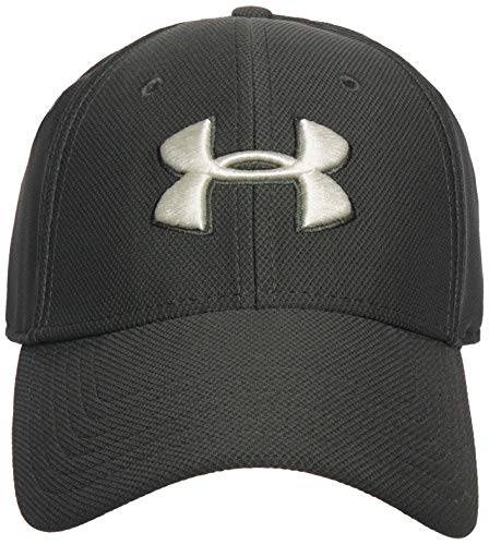 Under Armour Men's Blitzing 3.0 Cap , Baroque Green (310)/Summit White , Small/Med