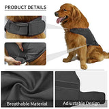 Comfort Dog Anxiety Relief Coat, Dog Thunder Vest Calming Anxiety Wrap