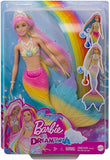 Barbie Dreamtopia Rainbow Magic Mermaid Doll with Rainbow Hair and Water
