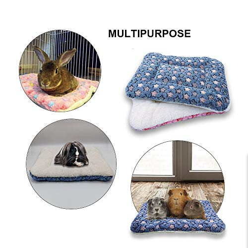 RIOUSSI Bunny Bed, Guinea Pig Warm Bed for Small Animals Rabbits Chinchillas