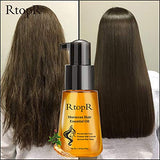 RtopR Moroccan Hair Essential Oil - Prevent Hair Loss, Hair Care Essential Oil for Dry Damaged Hair Men and Women, Healthier Scalp Soft and Light Care for Damaged Hair, Giving Shine and Gloss