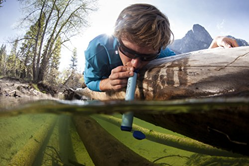 LifeStraw Personal Water Filter for Hiking, Camping,Travel, and Emergency Preparedness