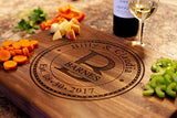 Personalized Cutting Board, USA Handmade Cutting Board - Personalized Gifts