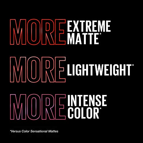 Maybelline Color Sensational Ultimatte Lipstick, Lightweight Comfortable Lip Color