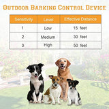 Zomma Anti Barking Device, New Bark Box Outdoor Dog Repellent Device