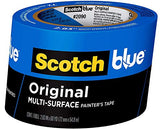 ScotchBlue Original Multi-Surface Painter's Tape, 2.83 inches x 60 Yards, 2090, 1 Roll