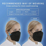 KN95 Face Mask 20 PCS, Included on FDA EUA List, Filter Efficiency≥95%, 5 Layers Cup
