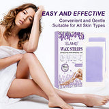 Cold Wax Hair Remove Strips, Hair Removal Strips for Facial, body, Arms, Legs, Underarm Hair, Eyebrow, Bikini line, Gift For Women and Men (40 Pieces)