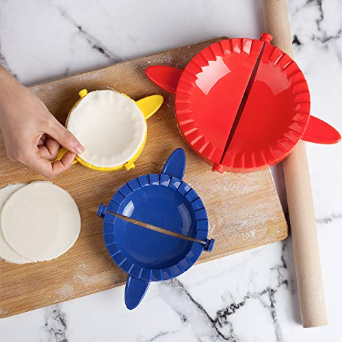 BTaT- Dough Press Set, 3 Pack, Empanada Press, Dough Press, Dumpling Press