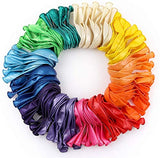 RUBFAC 120 Assorted Color Balloons 12 Inches 12 Kinds of Rainbow Party Latex