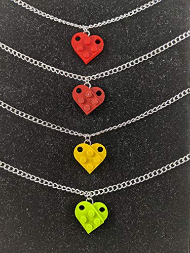 BrickCrafts Fashion Heart Pendant Necklace