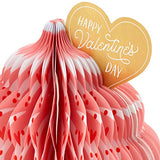 Hallmark Paper Wonder Pop Up Valentines Day Card (Honeycomb Cupcake)