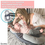 UpwardBaby Thick Baby Lounger Pillow for Newborn - Adjustable Dock A Tot Baby Nest