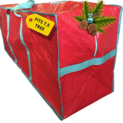 Christmas Tree Storage Bag - Extra Large Xmas Tote Fits 7.5 ft Artificial Fake Tree