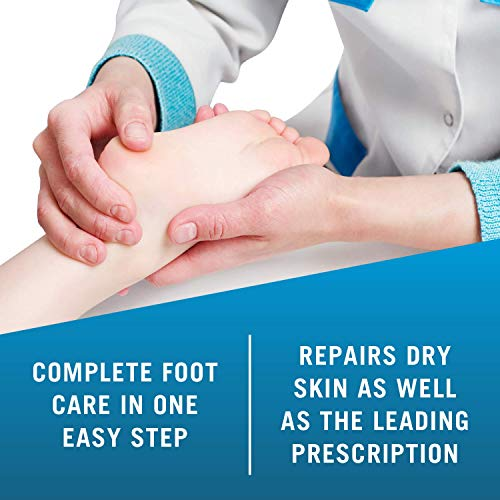 Kerasal Intensive Foot Repair, Deeply Moisturizes - Visible Results in Just 1 Day - 1 Oz