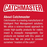 Catchmaster Baited Rat, Mouse and Snake Glue Traps Professional Strength-6 Glue Trays