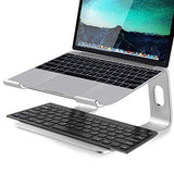 Laptop Stand, Aluminum Computer Riser, Ergonomic Laptops Elevator for Desk, 10 to 15.6 Inches Notebook Computer,