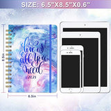 2021 Planner - 2021 Weekly & Monthly Planner with Hard Cover, 6.4'' x 8.5''