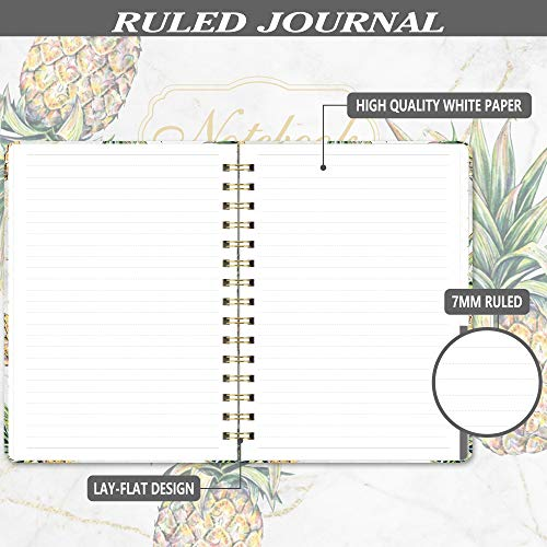 "Ruled Notebook/Journal - Lined Journal with Hardcover, 8.35"" x 6.3"", College Ruled"