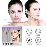 V Line Face Mask, (4pcs) Double Chin Reducer Lifting Face Masks