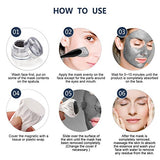 ALIVER Magnetic Mask Mineral Sea Mud Black Deep Skin Cleanser, Moisture Anti aging Pore Reducer,Blackhead and Oil Skin Care (50 ML/ 1.76 fl. oz)