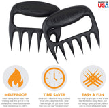 The Original Bear Paws Shredder Claws - Easily Lift, Handle, Shred, and Cut Meats