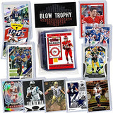 NFL Quarterback Football Card Bundle, Assorted Set of 12 Mint Star QB Football Cards