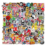 Cool Stickers Decals 106 Pack Random Sticker for Skateboard Helmet Laptop Bicycle