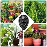 Soil pH Meter, 3-in-1 Soil Moisture/Light/pH Tester and Humidity Meter for Gardening