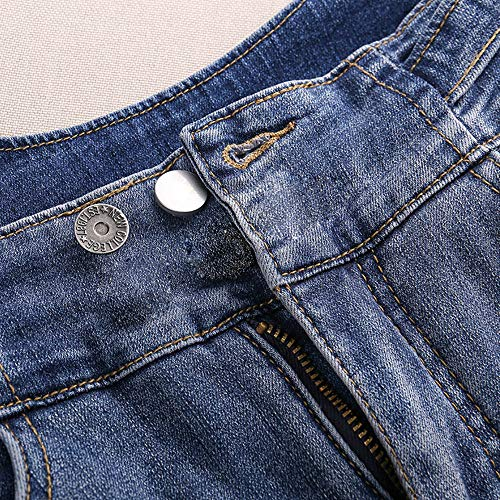 Button Pins for Jeans, Pants Button Pins Instant Buttons Jean Button for Pants Fashion