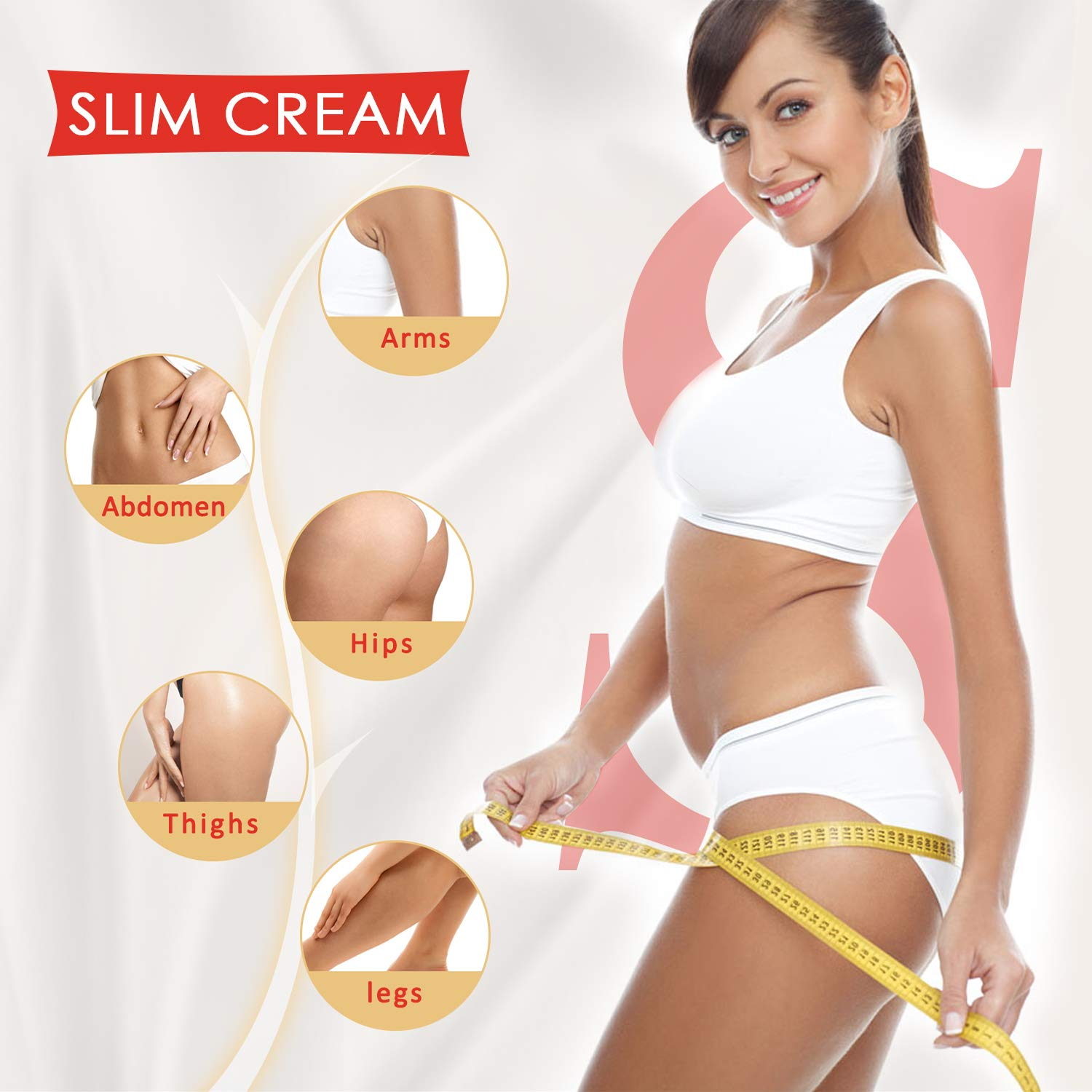 Hot Cream 2Pcs,Fat Burner Sweat Cream - Slimming Cream for Belly,Waist and Thighs