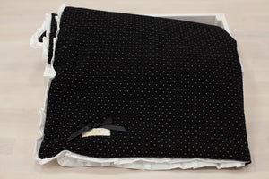 White Dots on Black Blanket