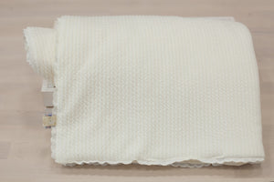 Ivory Pucker and Ivory Pima Blanket