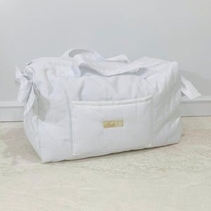 White Diaper Bag set of 3 items