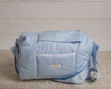 Load image into Gallery viewer, Blue Diaper Bag set of 3 items
