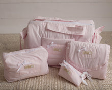 Load image into Gallery viewer, Pink Mush Diaper Bag set of 4 items