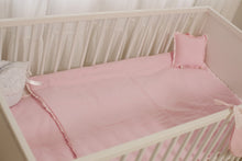 Load image into Gallery viewer, Baby Crib Set Pink 7 items Set