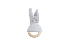 Load image into Gallery viewer, Teething Bunny Ring