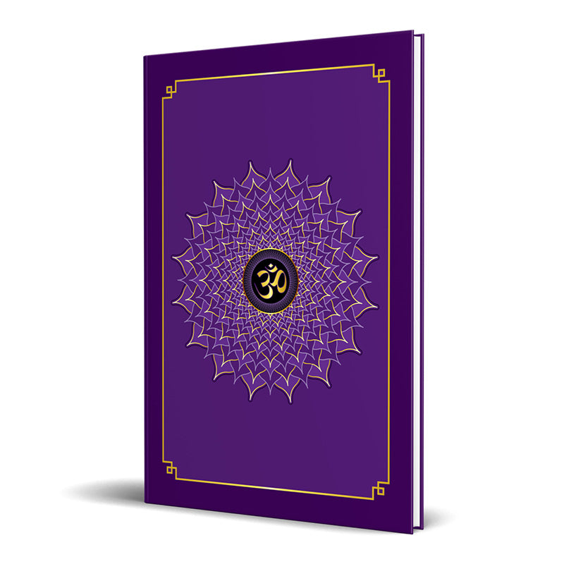 Crown Chakra Hardcover Journal 7.125