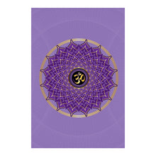 "Load image into Gallery viewer, Crown Chakra Hardcover Journal (Lavender) 7.125"" x 10.25"" Blank, Lined, Graph, or Dot Grid"