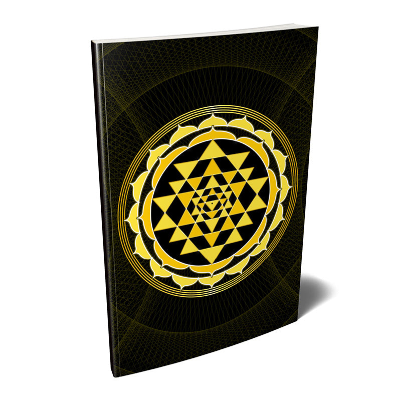 Sri Yantra Softcover Notebook Journal (Yellow) 7