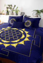 Load image into Gallery viewer, Sun (Surya) Yantra Microfiber Duvet Cover